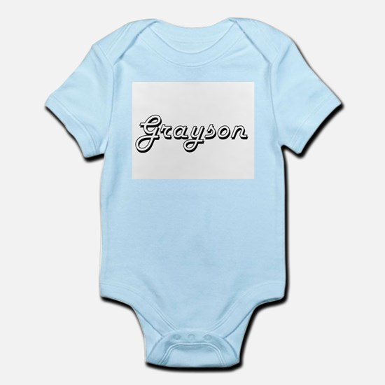 Grayson Classic Style Name Body Suit