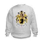 Plessinger Family Crest Kids Sweatshirt