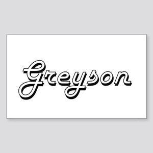 Greyson Classic Style Name Sticker