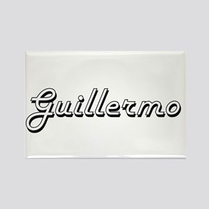 Guillermo Classic Style Name Magnets