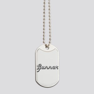 Gunnar Classic Style Name Dog Tags