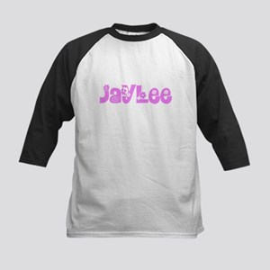 Jaylee Flower Design Baseball Jersey