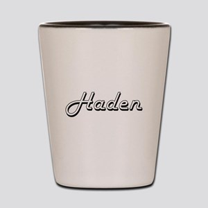 Haden Classic Style Name Shot Glass