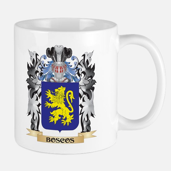Boscos Coat of Arms - Family Crest Mugs