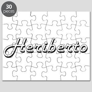 Heriberto Classic Style Name Puzzle