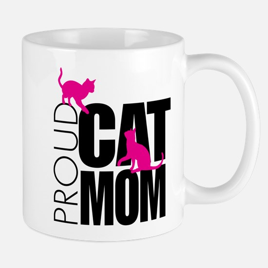 Proud Cat Mom Mugs