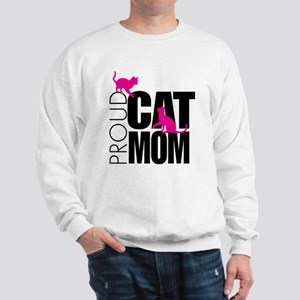 Proud Cat Mom Sweatshirt