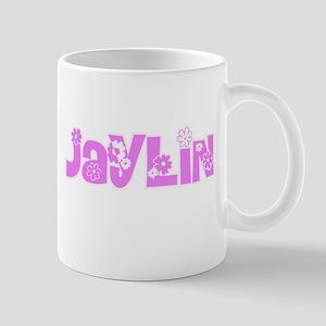 Jaylin Flower Design Mugs