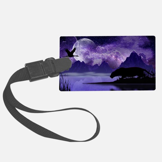 Unique Black panthers Luggage Tag