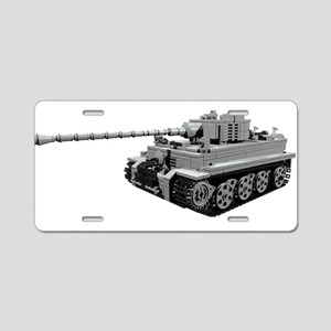 Tiger Panzer Aluminum License Plate