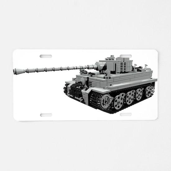 Tiger Panzer Aluminum License Plate