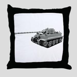 Tiger Panzer Throw Pillow