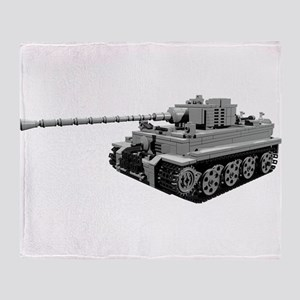 Tiger Panzer Throw Blanket