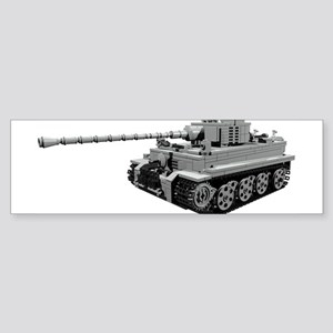 Tiger Panzer Bumper Sticker