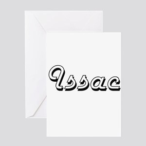 Issac Classic Style Name Greeting Cards