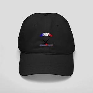 Skydiving Fail. Black Cap