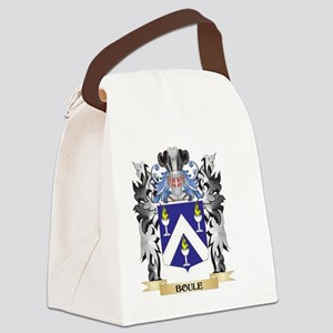 Boule Coat of Arms - Family Crest Canvas Lunch Bag