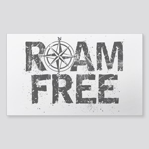 Roam Free. Sticker