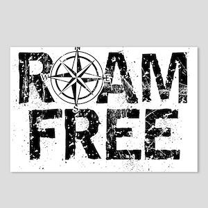 Roam Free. Postcards (Package of 8)