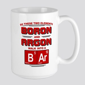 Boron & Argon Walk Into A BAr Mugs