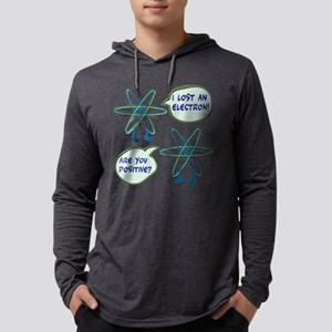 Electron Positive Pun Long Sleeve T-Shirt