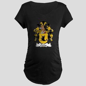 Ochs Family Crest Maternity Dark T-Shirt