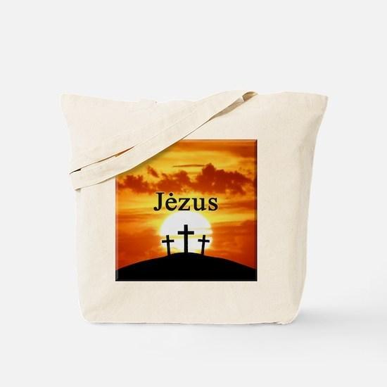 Lithuanian Jesus Tote Bag
