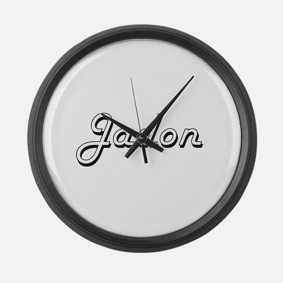 Jadon Classic Style Name Large Wall Clock