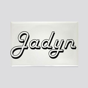 Jadyn Classic Style Name Magnets