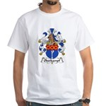 Oberkampf Family Crest White T-Shirt