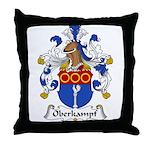 Oberkampf Family Crest Throw Pillow