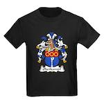 Oberkampf Family Crest Kids Dark T-Shirt