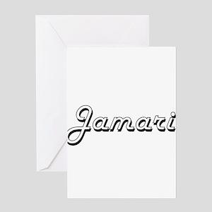 Jamari Classic Style Name Greeting Cards