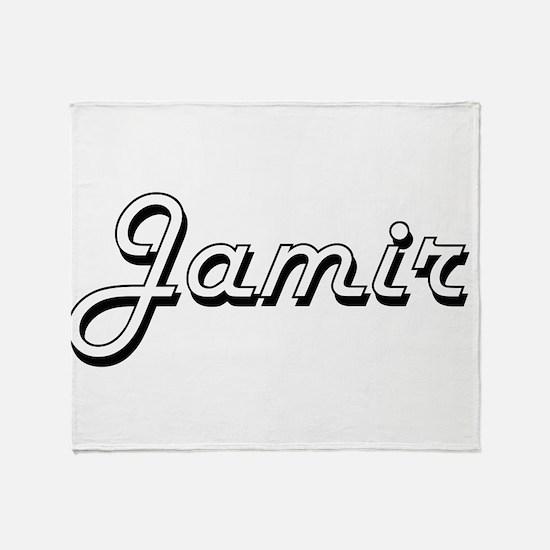 Jamir Classic Style Name Throw Blanket