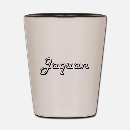 Jaquan Classic Style Name Shot Glass