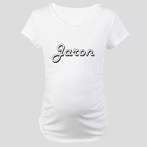 Jaron Classic Style Name Maternity T-Shirt