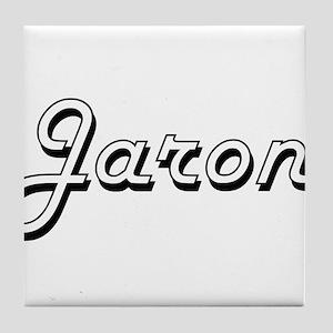 Jaron Classic Style Name Tile Coaster