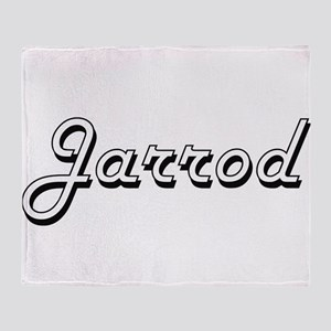 Jarrod Classic Style Name Throw Blanket