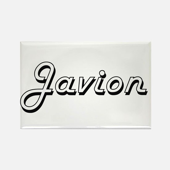 Javion Classic Style Name Magnets