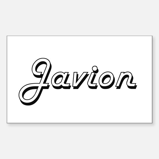 Javion Classic Style Name Decal