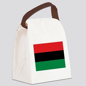 Pan-African UNIA Liberation Flag Canvas Lunch Bag