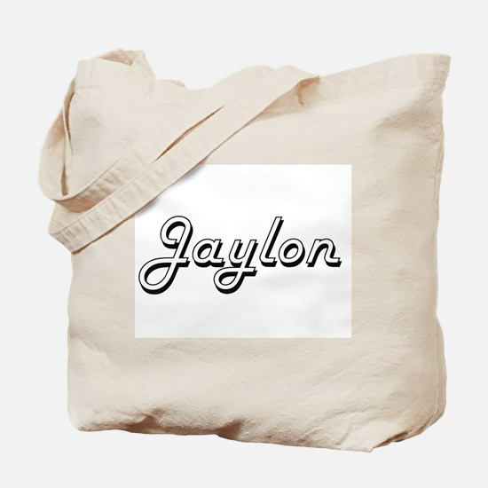 Jaylon Classic Style Name Tote Bag
