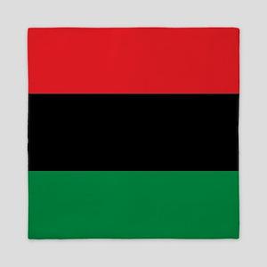 Pan-African UNIA Liberation Flag Queen Duvet
