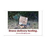 Drone Delivery Failure Mini Poster Print