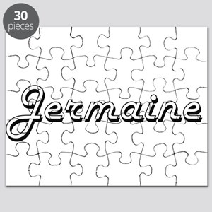 Jermaine Classic Style Name Puzzle