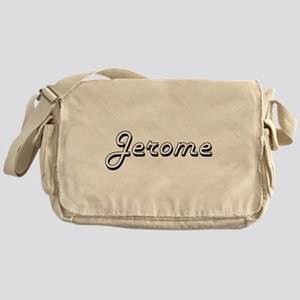 Jerome Classic Style Name Messenger Bag