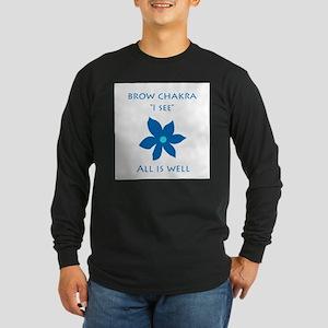 brow chakra Long Sleeve Dark T-Shirt