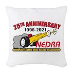 Logo Woven Throw Pillow