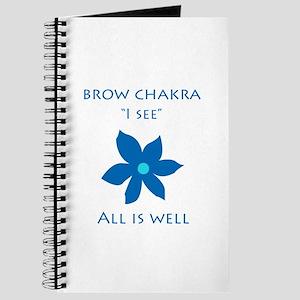 brow chakra Journal