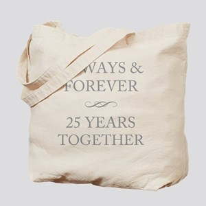 25 Years Together Tote Bag